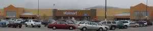This the Chubbuck, Idaho, Walmart. Consumer Reports ranked Walmart 67th out of 68!