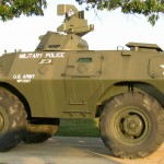 Vietnam War era V-100 armored car.