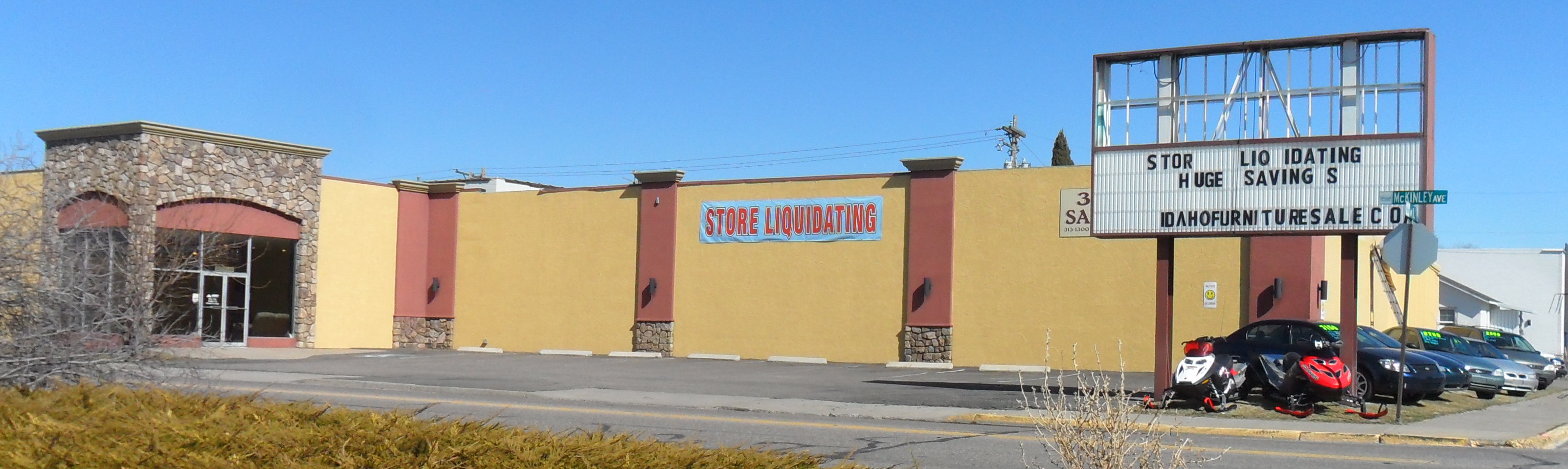 More Economic Decline Ashley Furniture Shuts Down Liquidation Center In Pocatello So Much For