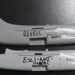 ESCI's fuselage is molded in 4 parts.