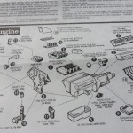 They even re-issued the original instructions, which reminded me why I had so much trouble building car kits as a kid in the mid-1970s.