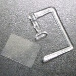 Hasegawa uses injection molded windshield, ICM requires you to cut and shape it from clear plastic sheet.