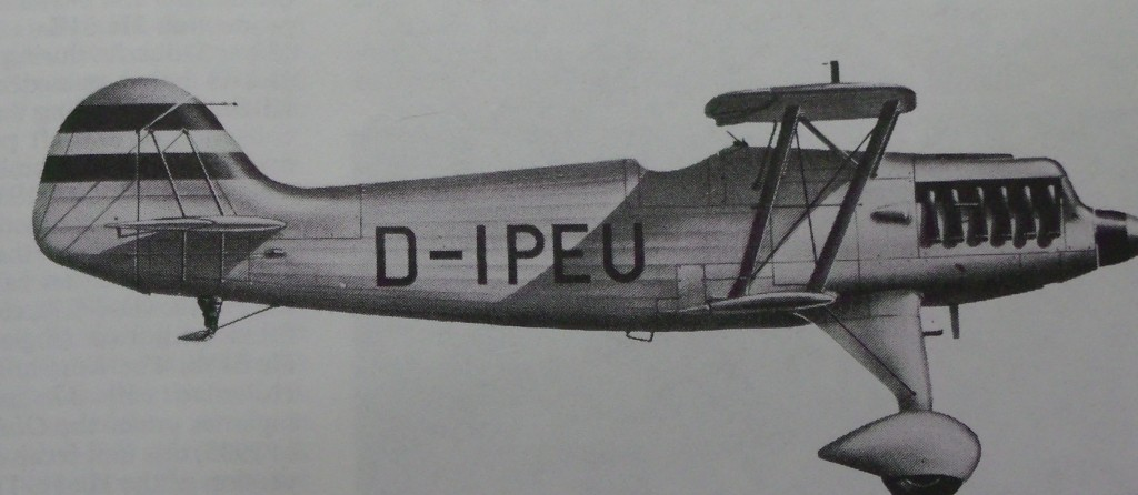This profile drawing of a He-51A is from the old Profile series, note the shape of the rudder.
